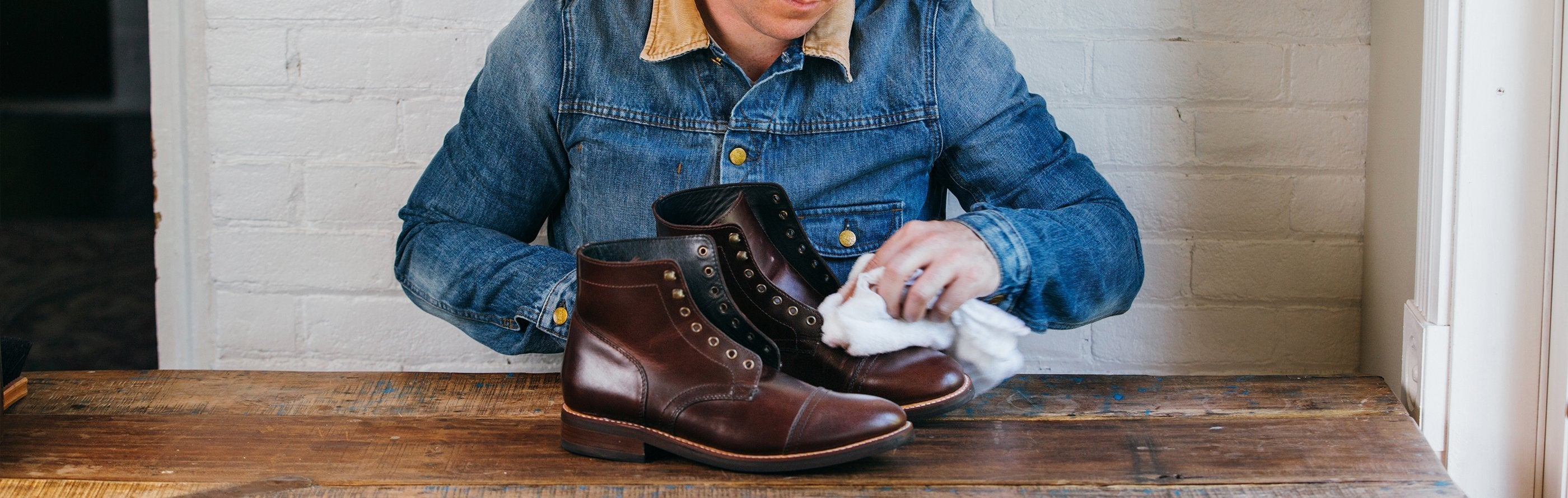6a27c61b1f6 Caring for Your Leather Boots | Thursday Boot Company