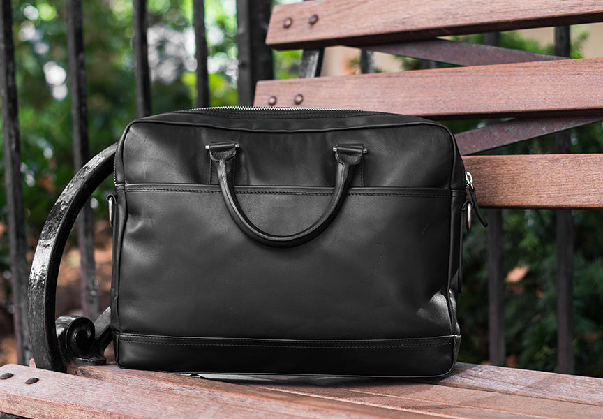 The Leather Briefcase