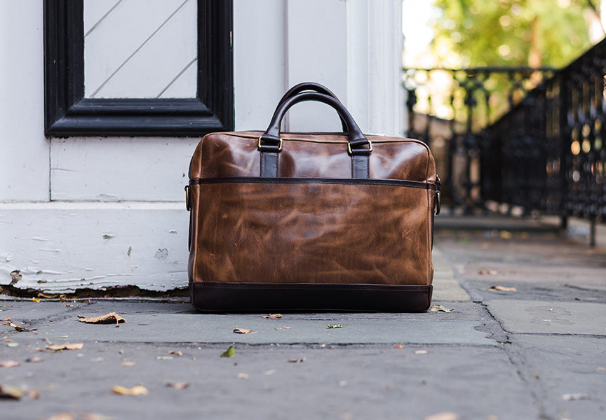 natural briefcase thursday boot company