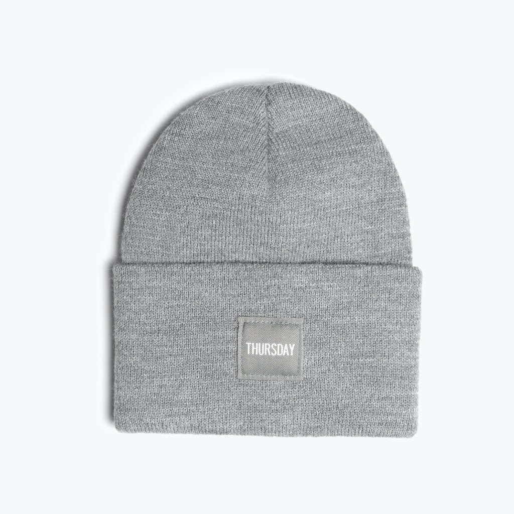 Thursday Beanie | Heather Grey