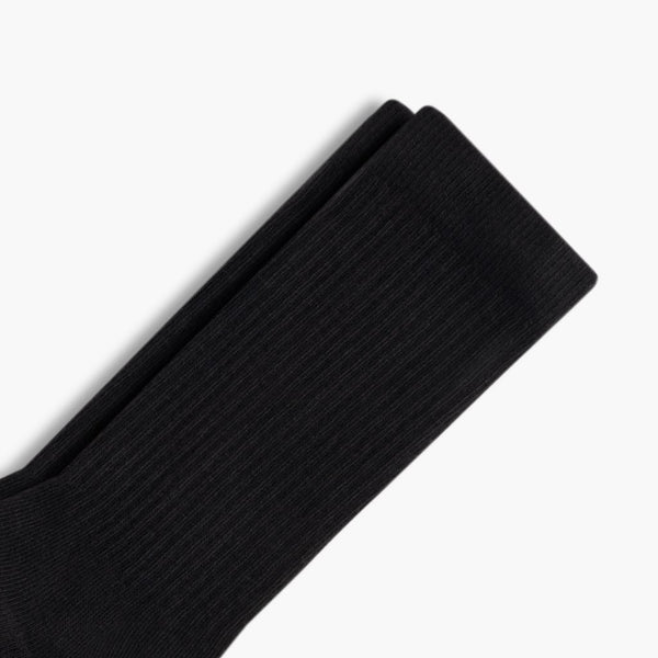 Men's Sodello Classic Crew Sock | Black