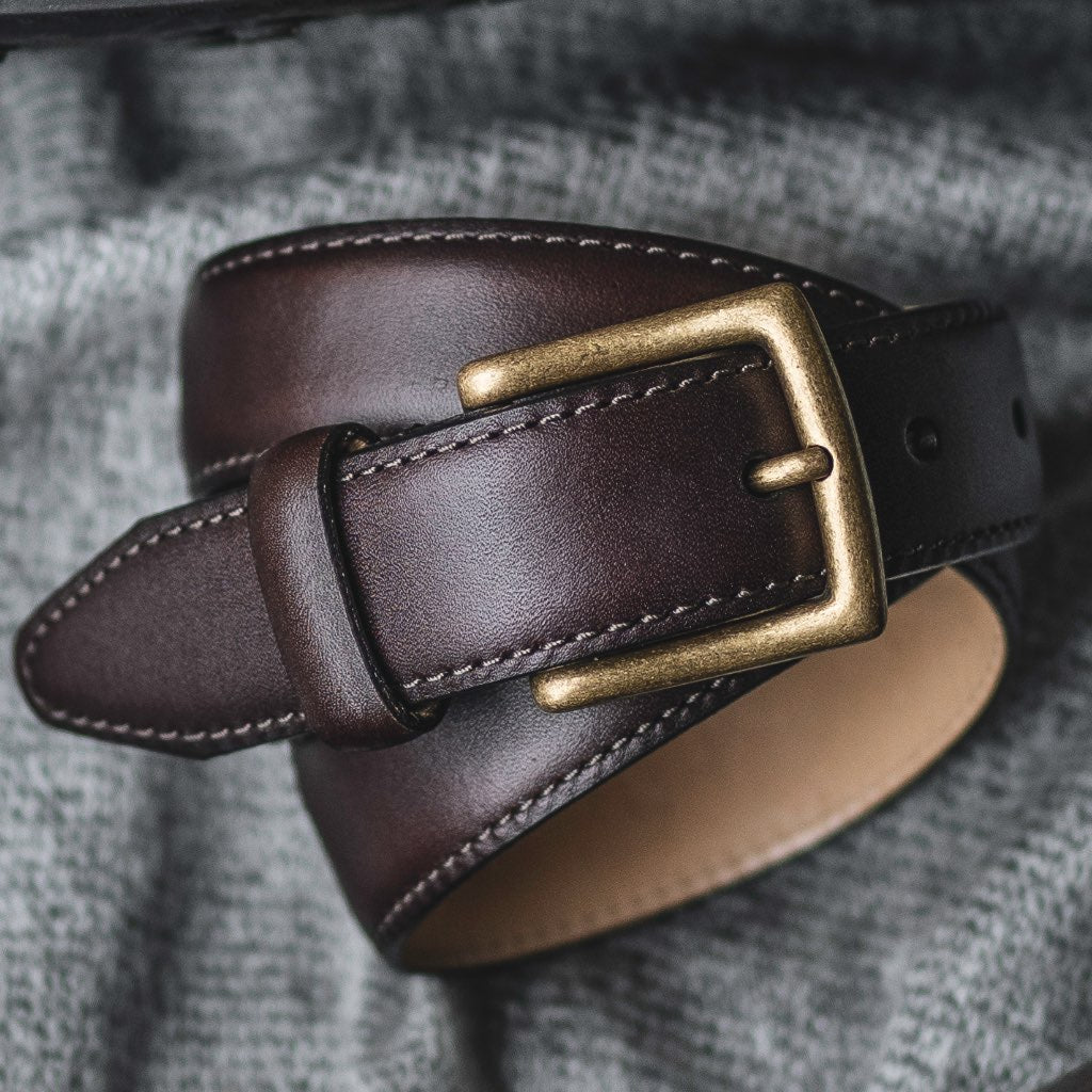 Women's Classic Leather Belt | Brown