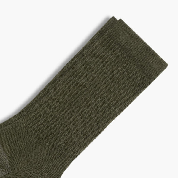 Men's Sodello Classic Crew Sock | Olive