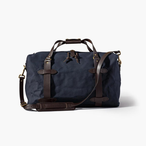 Rugged Twill Duffle Bag | Navy
