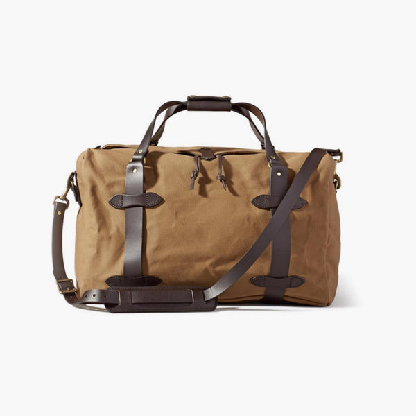 Rugged Twill Duffle Bag | Tan