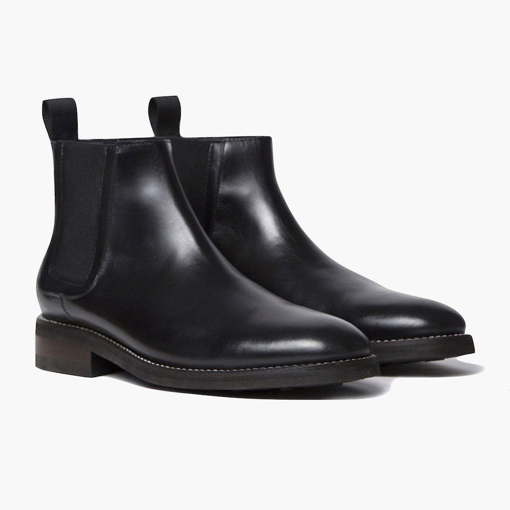1957f7af4baa Men s Black Duke Chelsea Boot - Thursday Boot Company