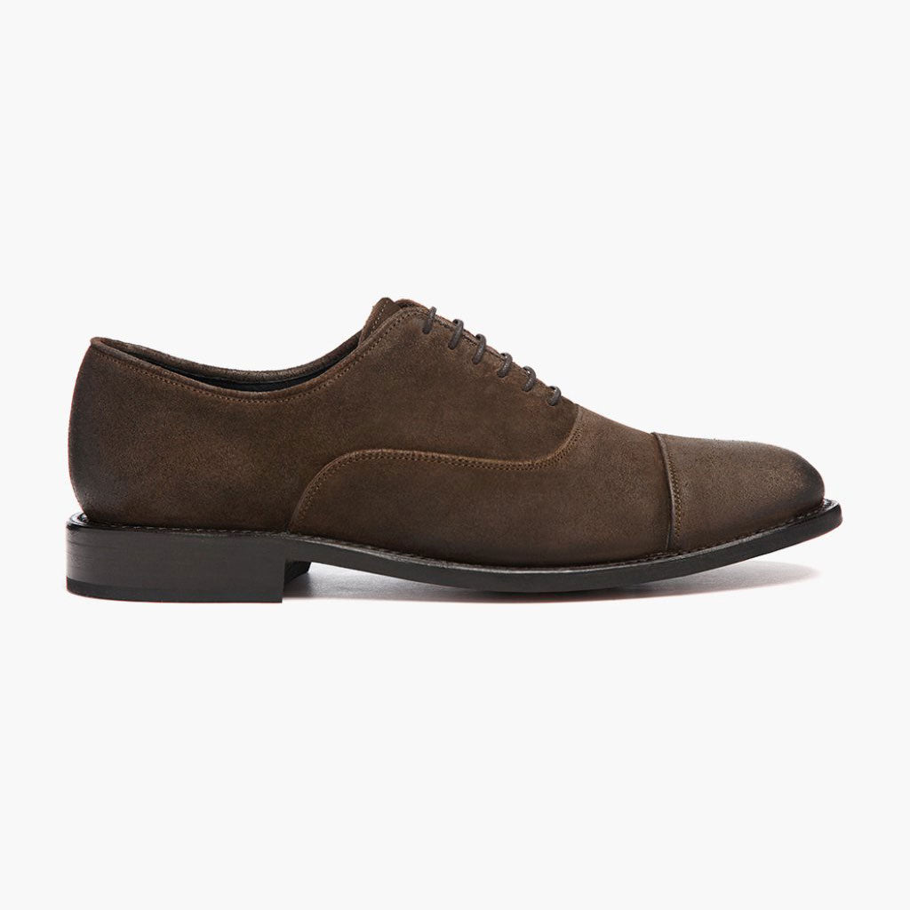 Executive | Dark Olive Suede