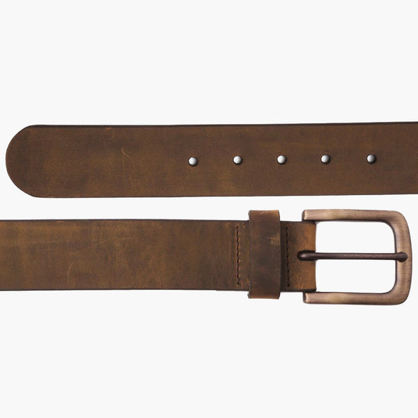 Men's Heritage Leather Belt | Burnt Copper
