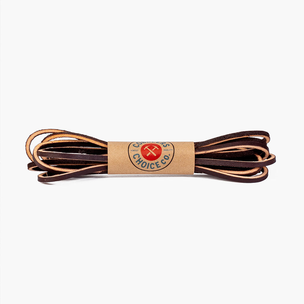 Leather Laces | Cougar Brown