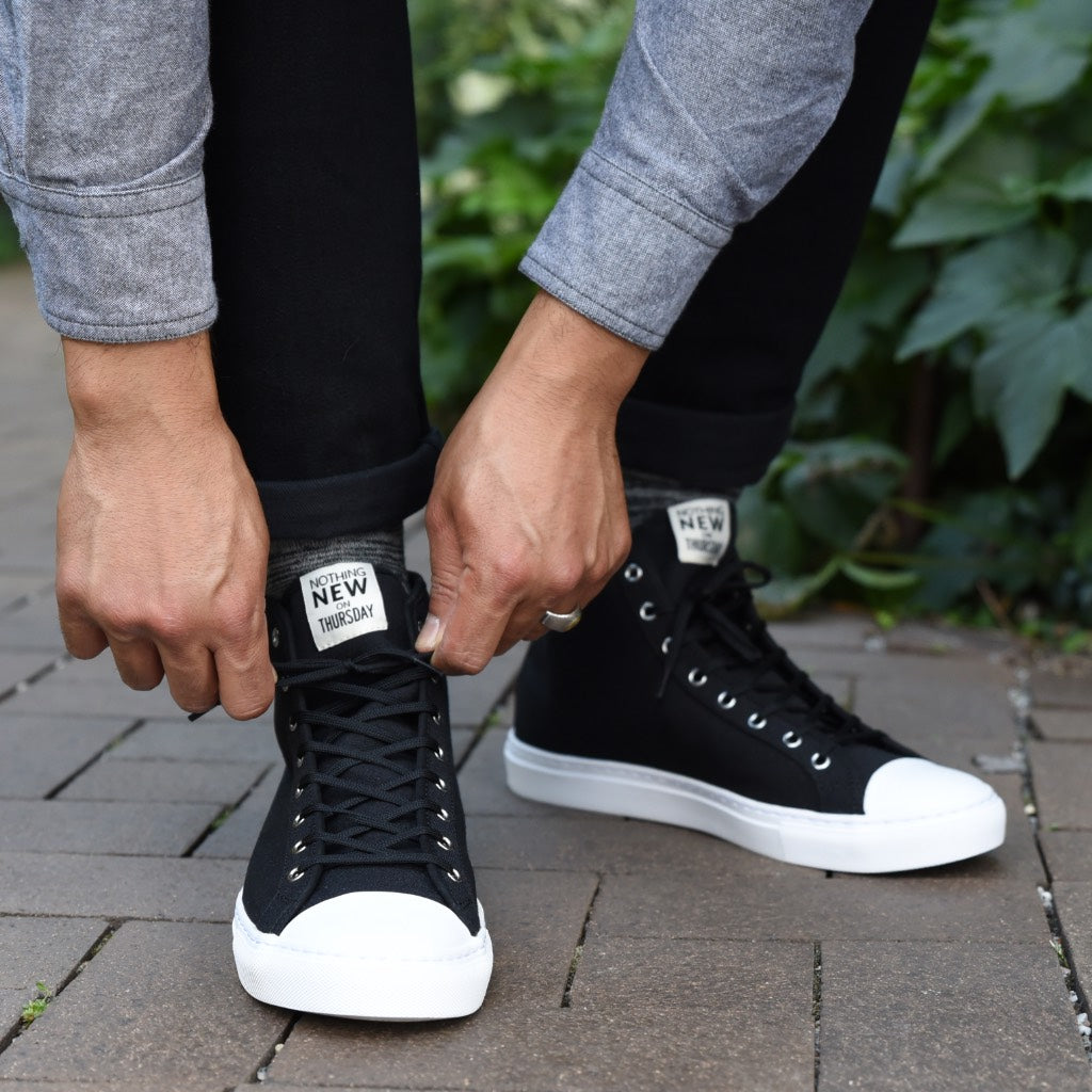 Men's High Top | Black