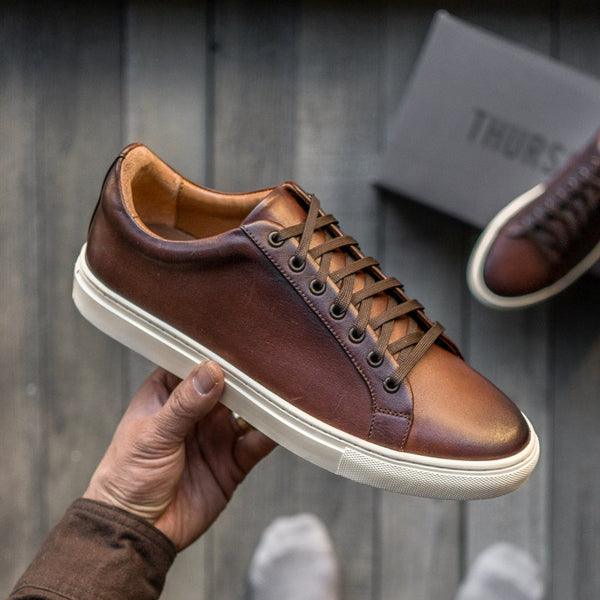 Premier Low Top | Coffee