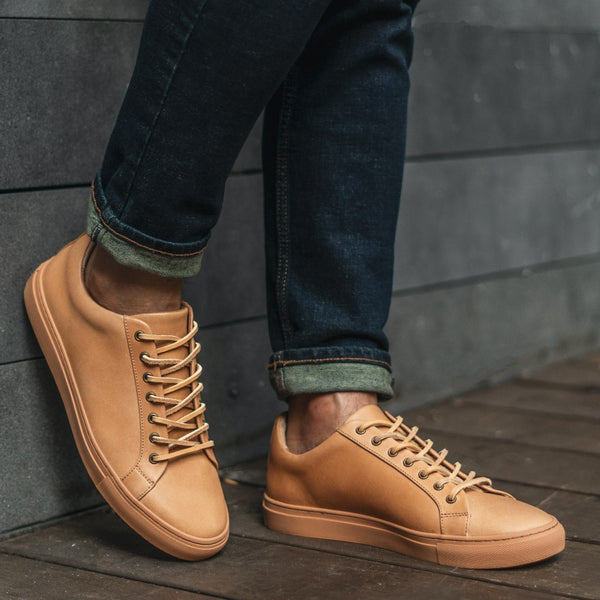 Premier Low Top | Tan Essex