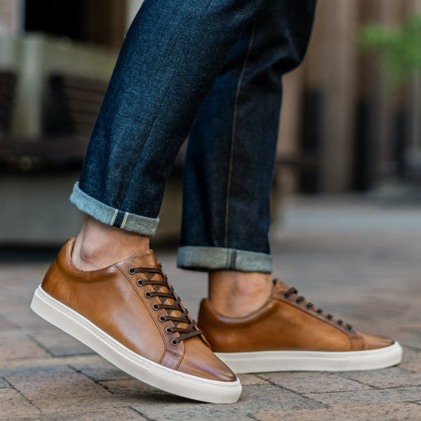 Premier Low Top | Toffee