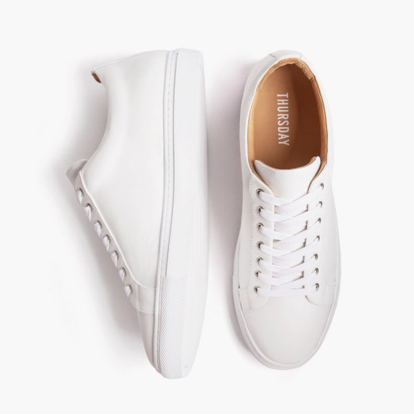 Premier Low Top | White