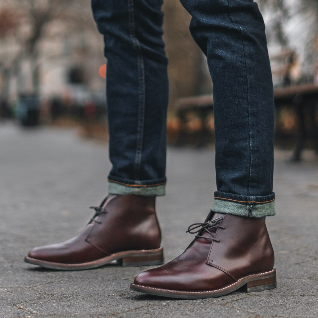 Men's Brown Leather Scout Chukka Boot - Thursday Boot Company