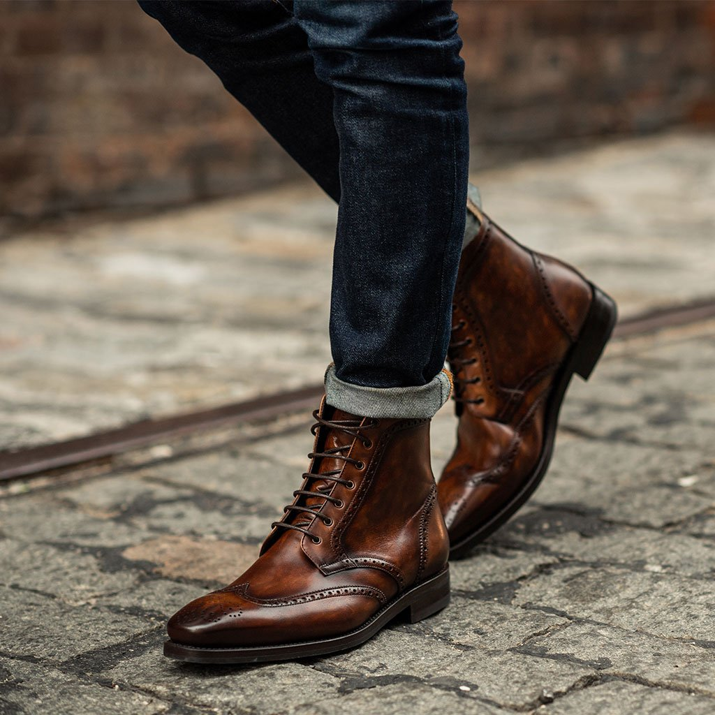 Thursday Boot Company Heritage Wingtip Mens Lace-up Boot