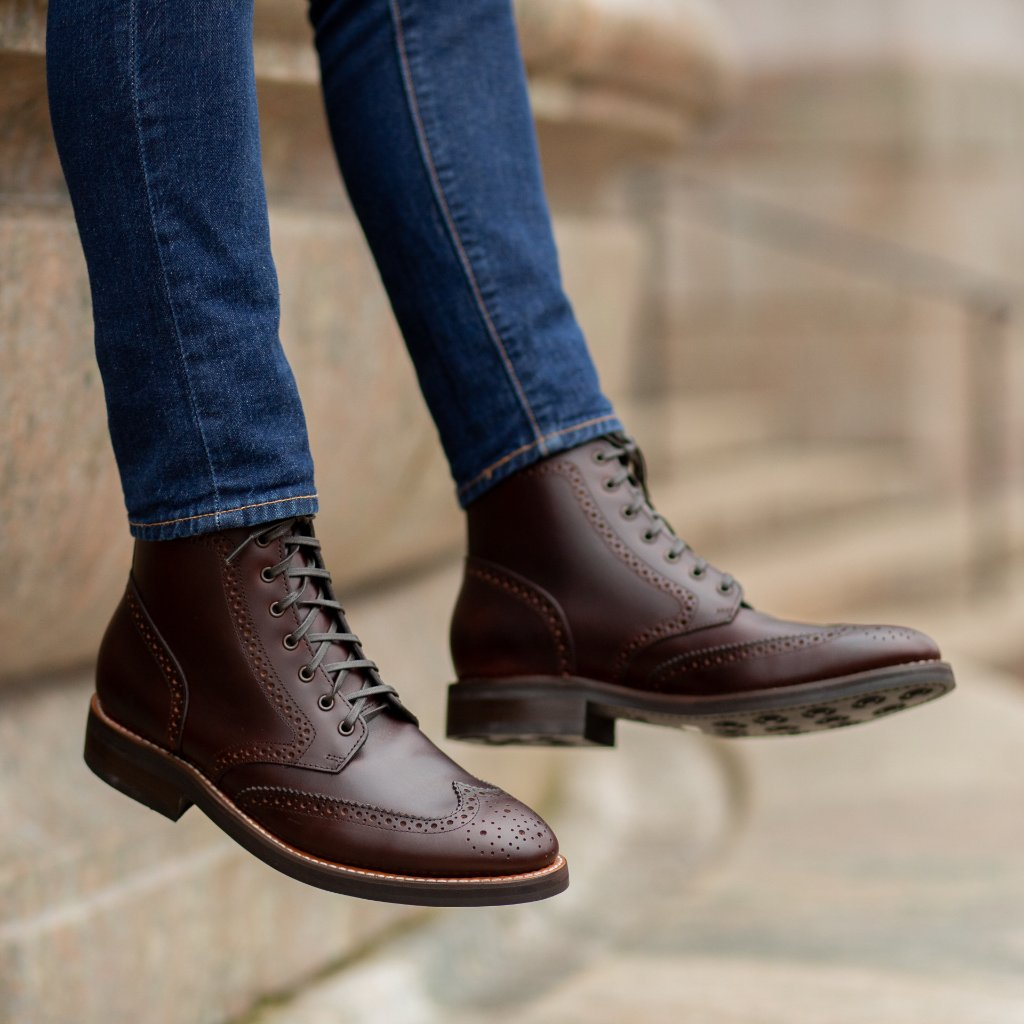 Heritage Wingtip | Brown