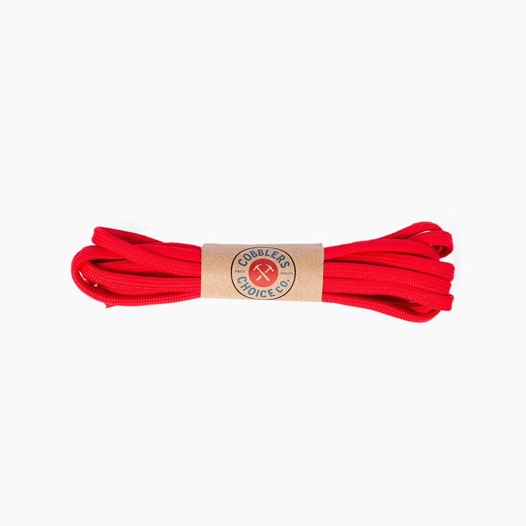 Round Nylon Laces | Red