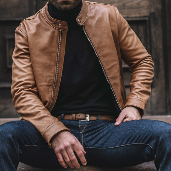 Racer Jacket | Natural