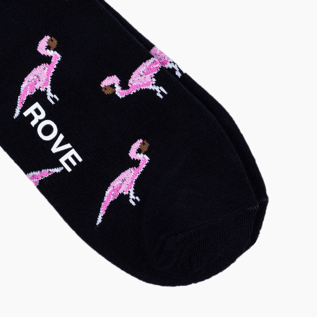 Rush & Rove Crew Socks | Flamingo