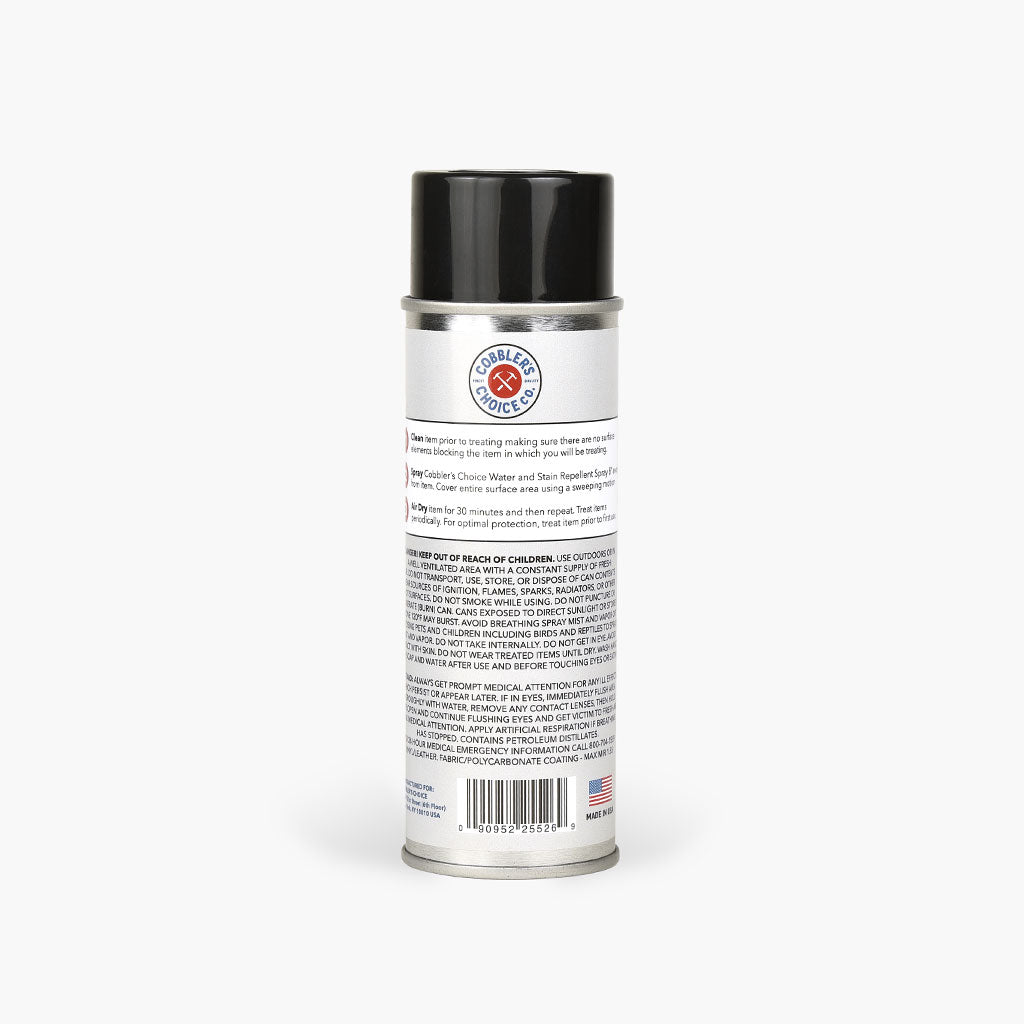 Cobbler's Choice Water & Stain Repellent Spray