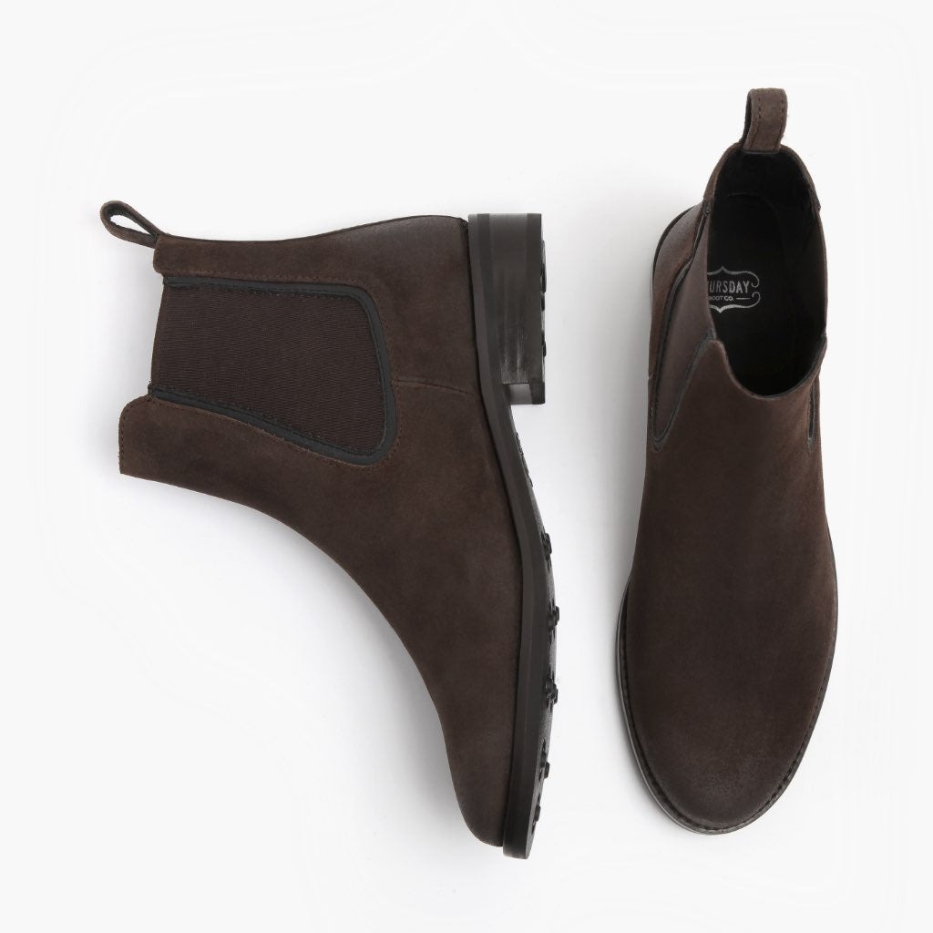 Duchess | Dark Brown Suede