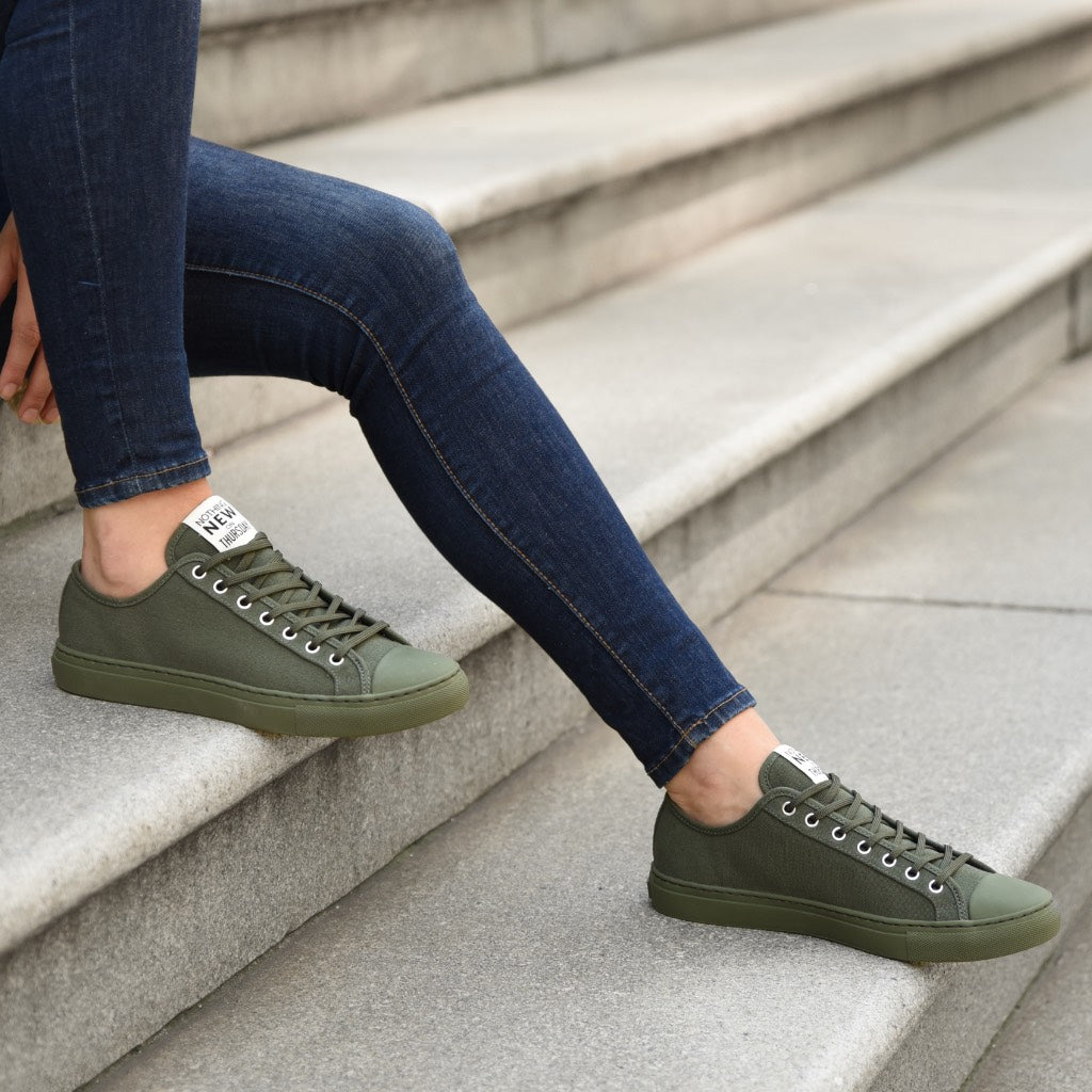 Women's Low Top | Forest