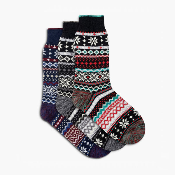 Women's Sodello Norwegian Sock | 3-Pack