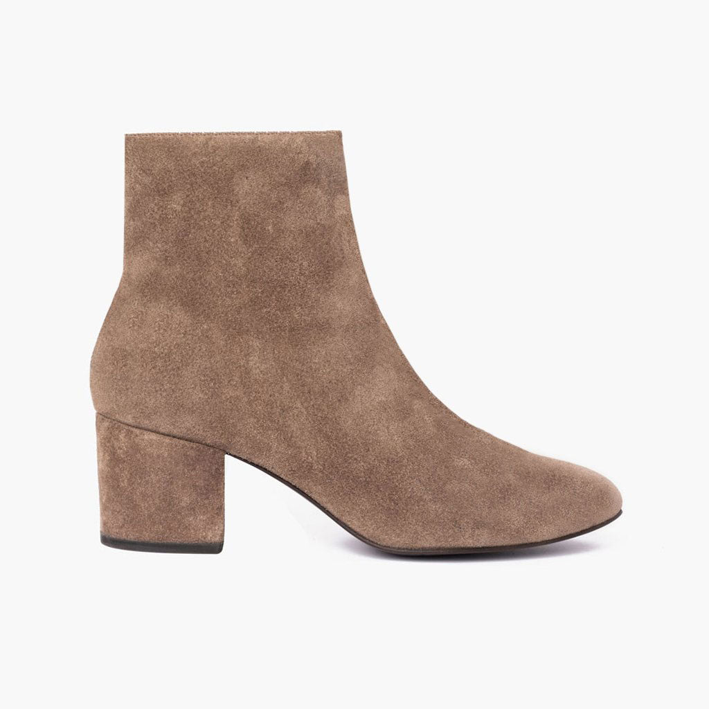 Women's Taupe Suede Paloma Bootie