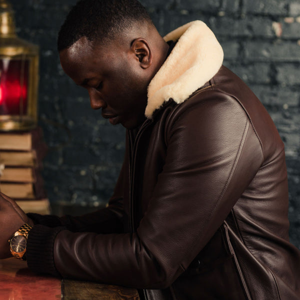 Flight Jacket | Brown