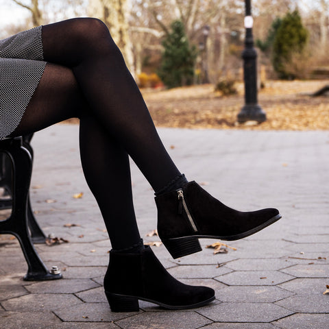 Downtown | Black Suede