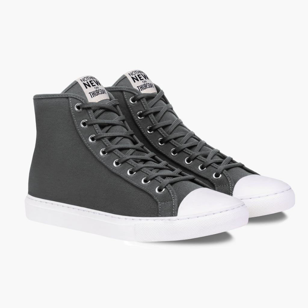 Men's High Top | Grey