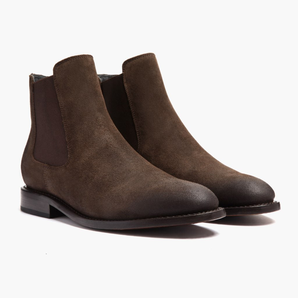 Cavalier | Dark Brown Suede