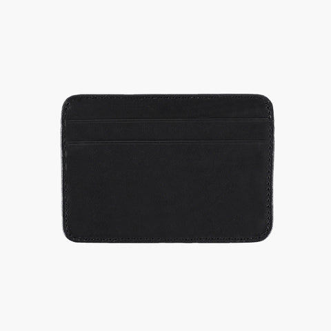 Leather Card Holder | Black