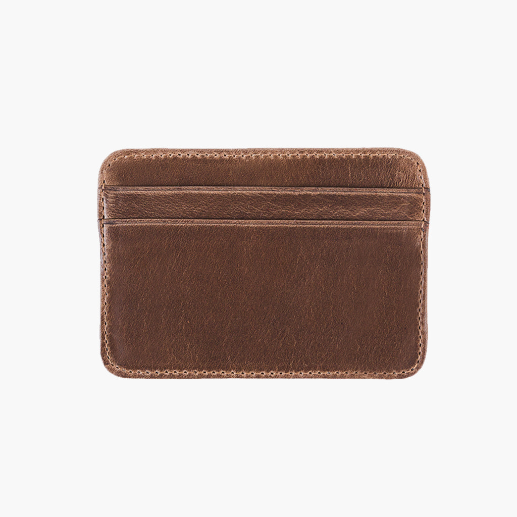 Natural Leather Card Holder