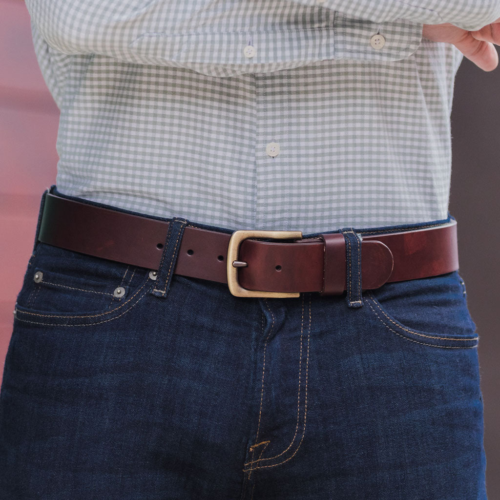 Heritage Leather Belt | Brown
