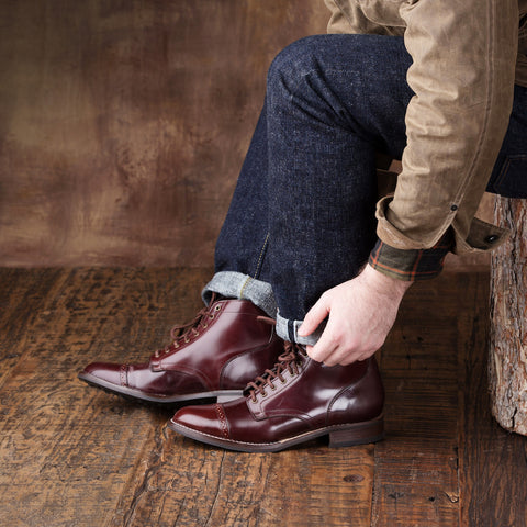 Vanguard | Burgundy Shell Cordovan