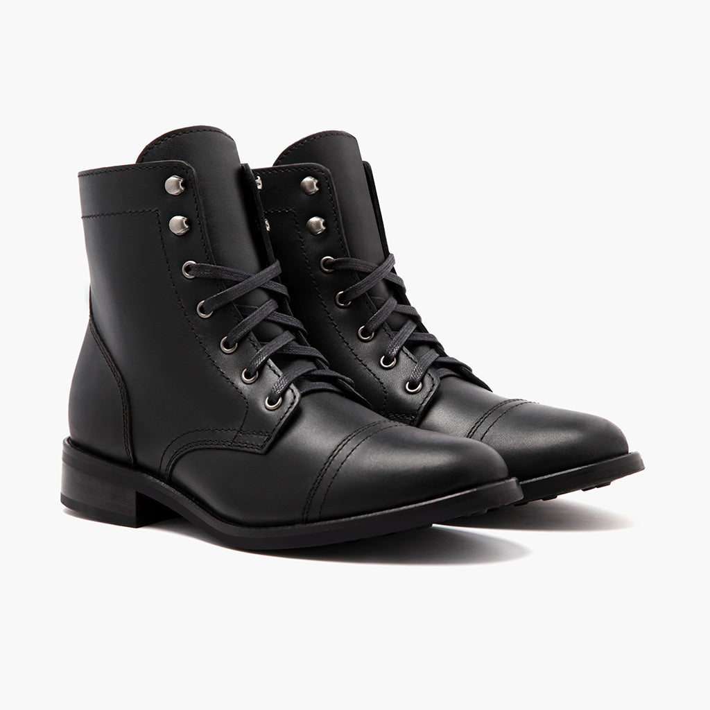 Fashion week Black Womens boots size for lady