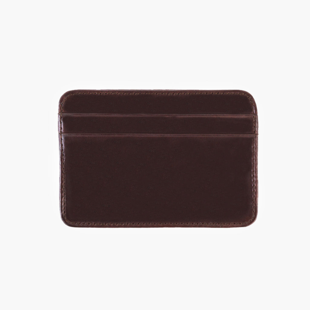 Leather Card Holder | Brown