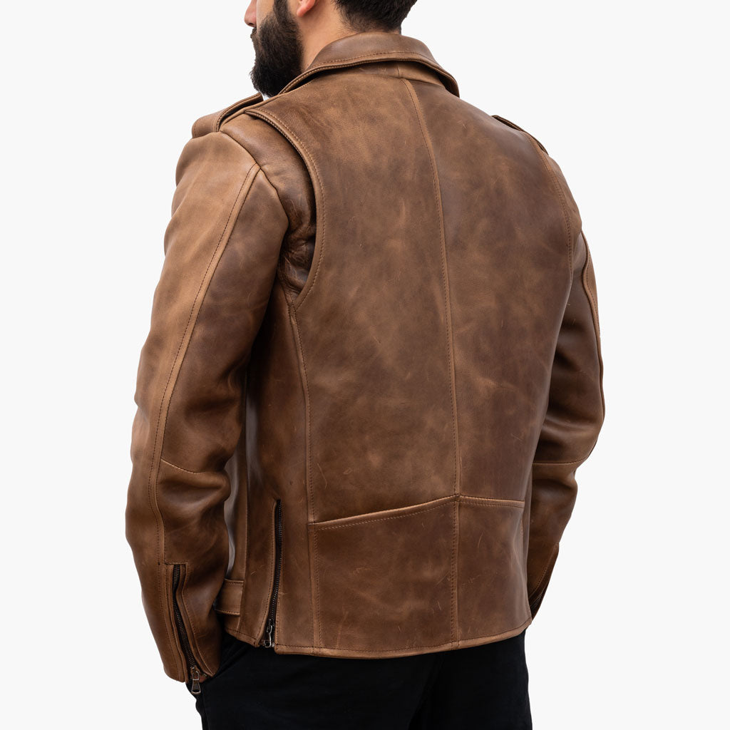 Motorcycle Jacket | Natural