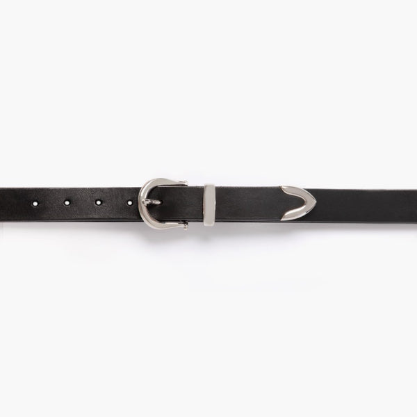 Western Leather Belt | Black