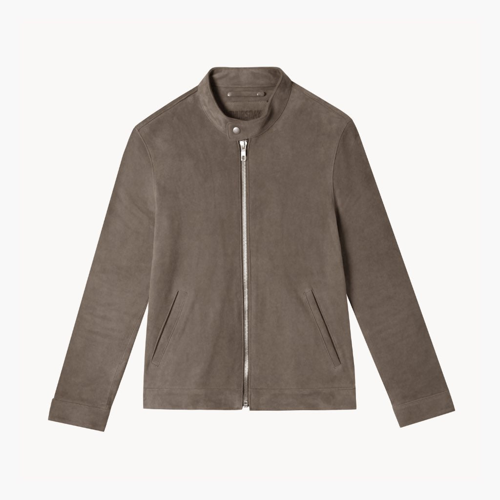 Racer Jacket | Taupe