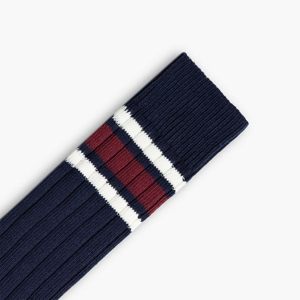 Men's Sodello Legacy Sock | Navy Stripes