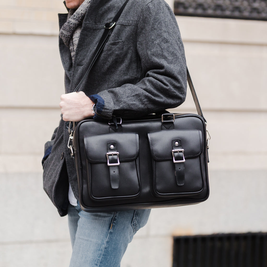 Continental Briefcase | Black