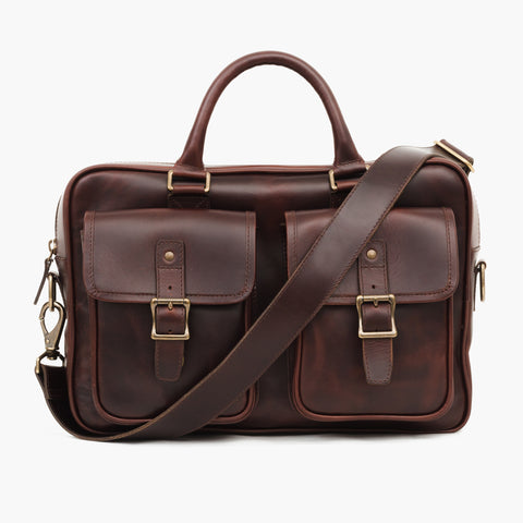 Continental Briefcase | Brown