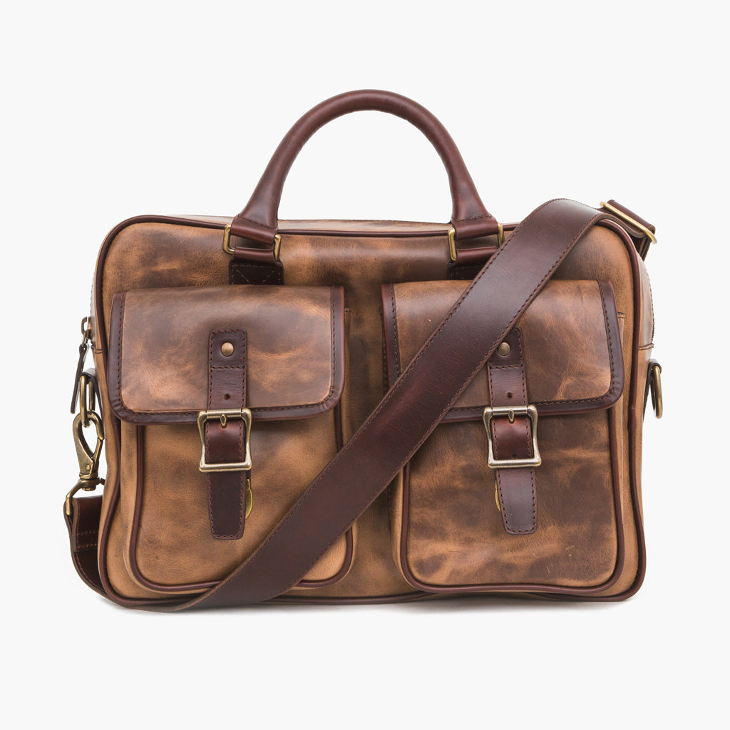 Continental Briefcase | Natural