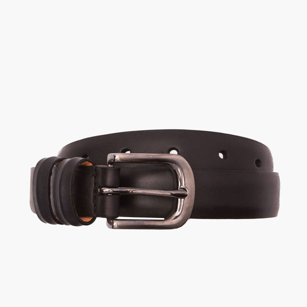 Men's Refined Leather Belt | Black