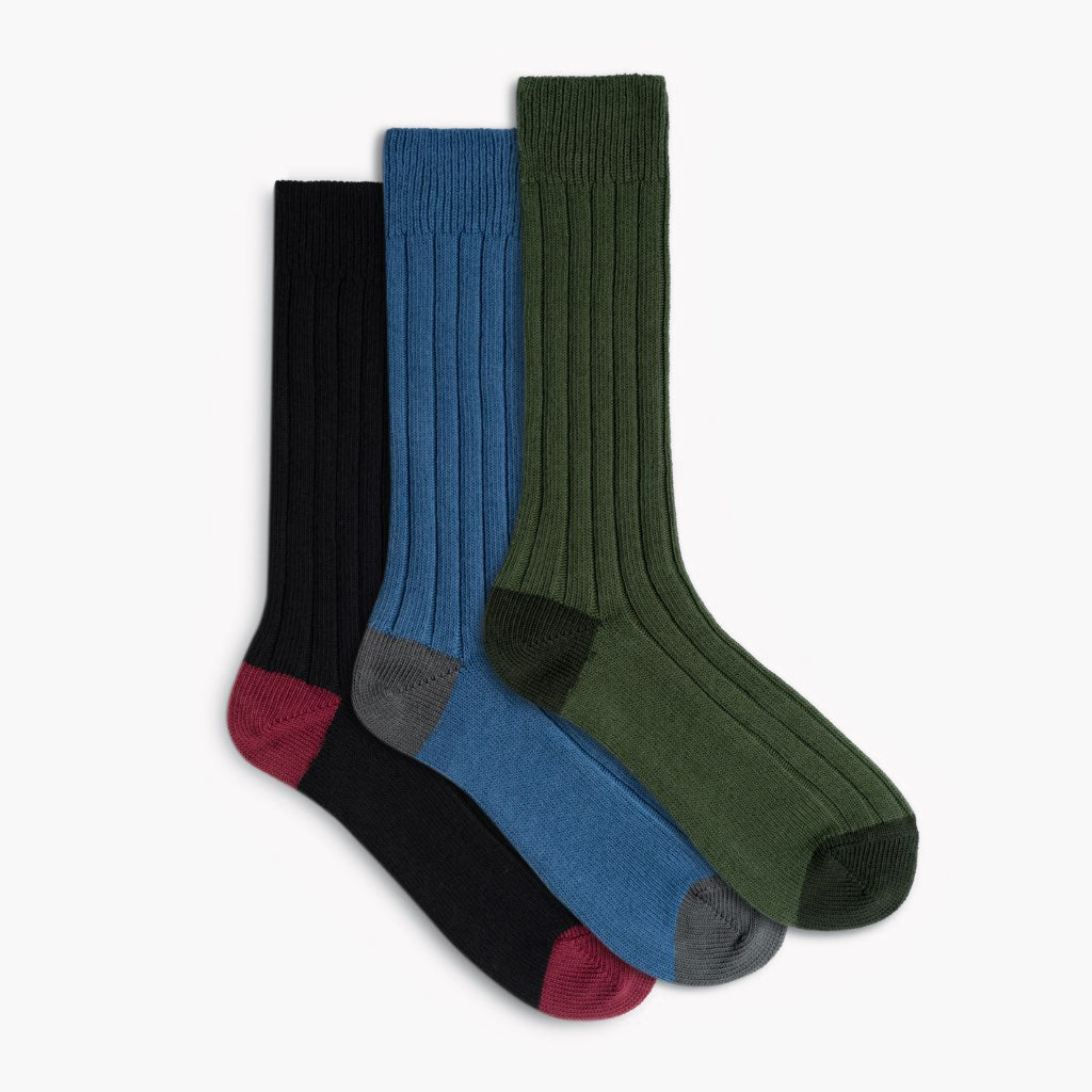 Men's Sodello Legacy Sock | 3-Pack (Solid)