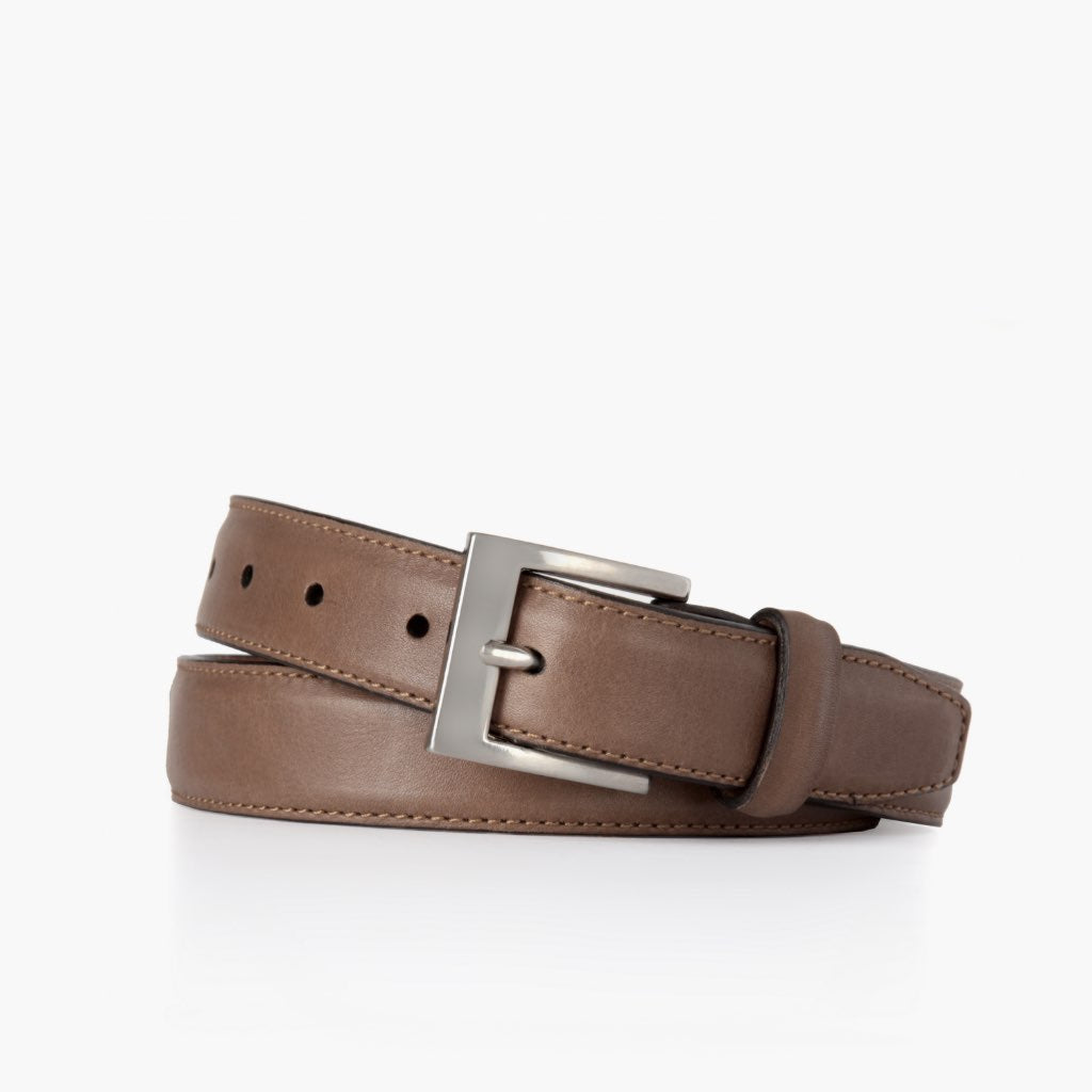 Men's Classic Leather Belt | Walnut