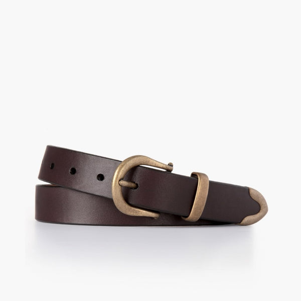 Women's Western Leather Belt | Brown